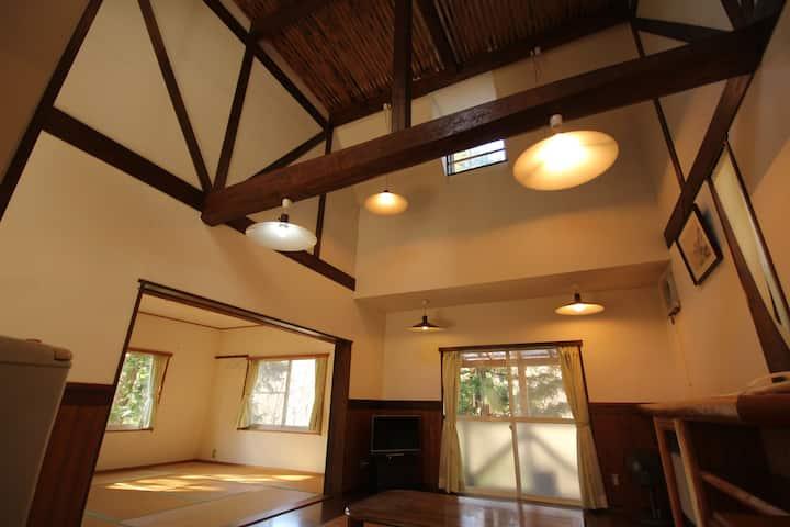 Nature Resort in Kuma Kogen Private cottage