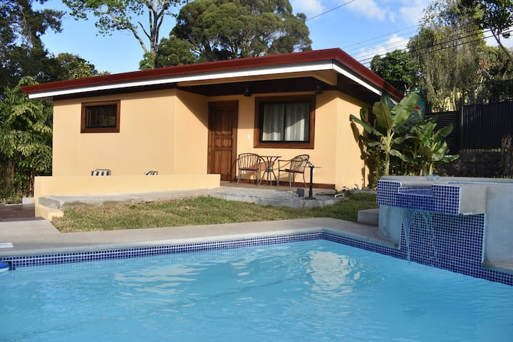 Poolside Villa in Escazu