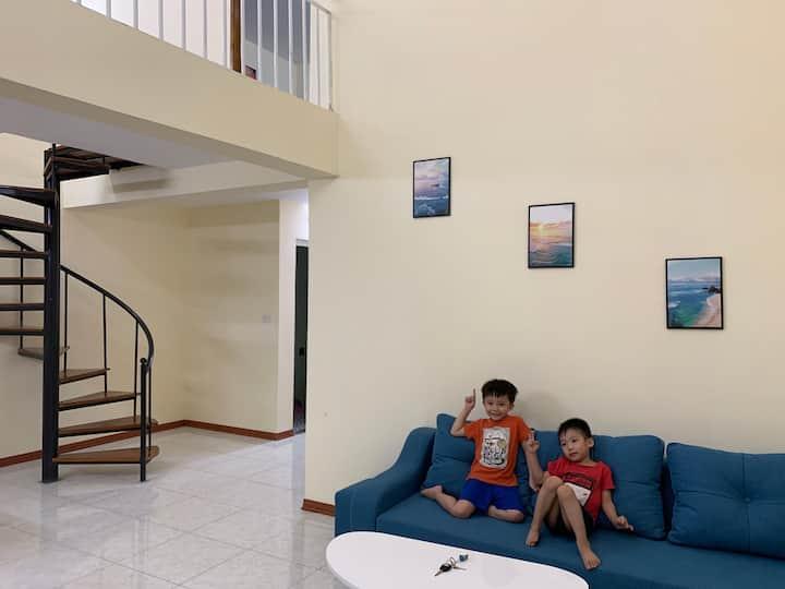 Cho thuê chung cư 65m2, trung tâm KCN Thuỵ Vân