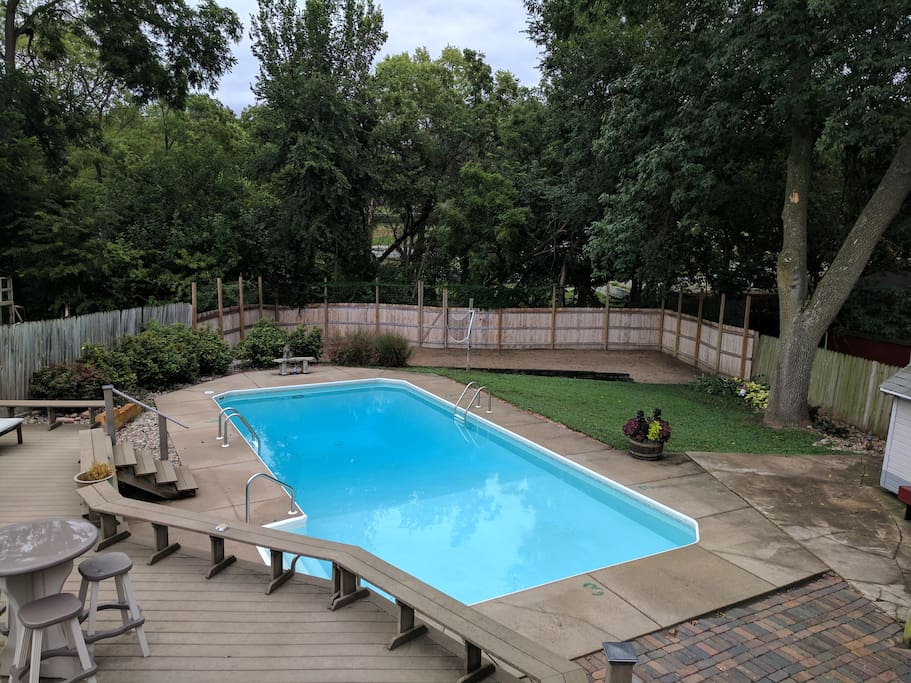 Pool will not be open until Memorial Day 2018
