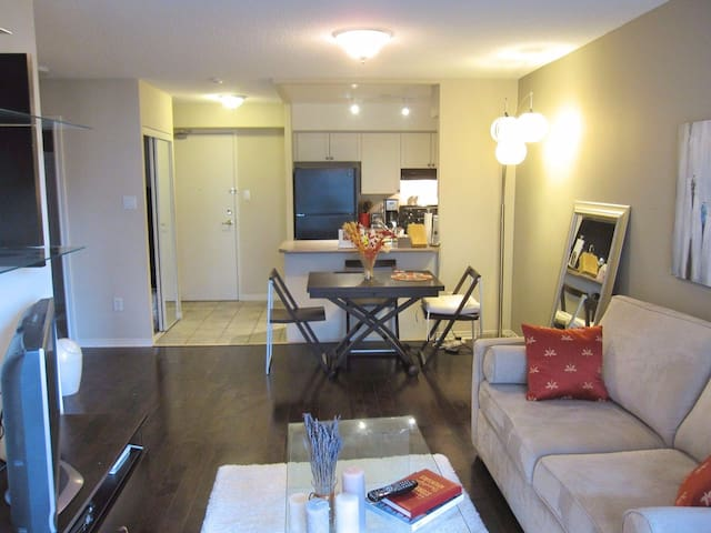 Quiet, Midtown, FULLY FURNISHED Condo