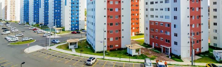 Apartamento no Cond. Cores de Piatã