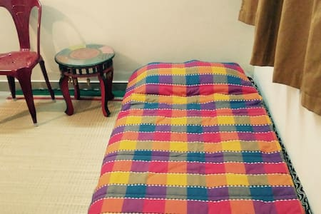 Comfy bedroom in our home - Bangalore - Appartement
