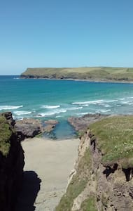 Coastal and Calm, Lush/Beautiful part of Cornwall - Saint Minver - Andere