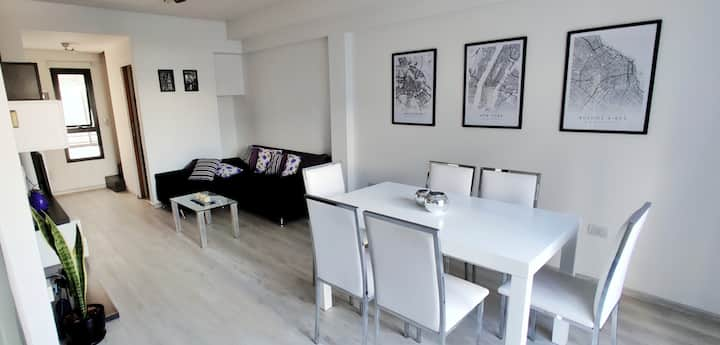 Modern and Spacious Apt 2p in the Heart of Palermo
