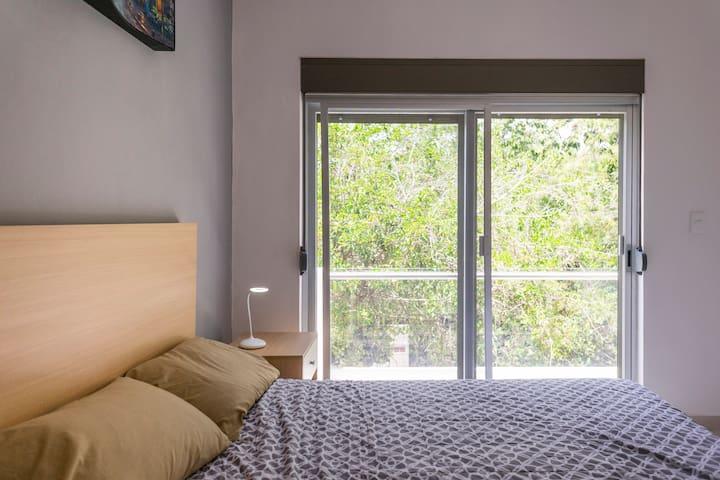 2 habitaciones con hermosa vista con persianas black out anticiclonicas
