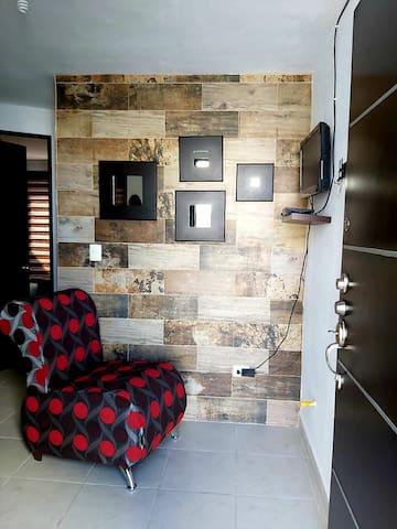 Casa con Vista al Cerró de la Silla
