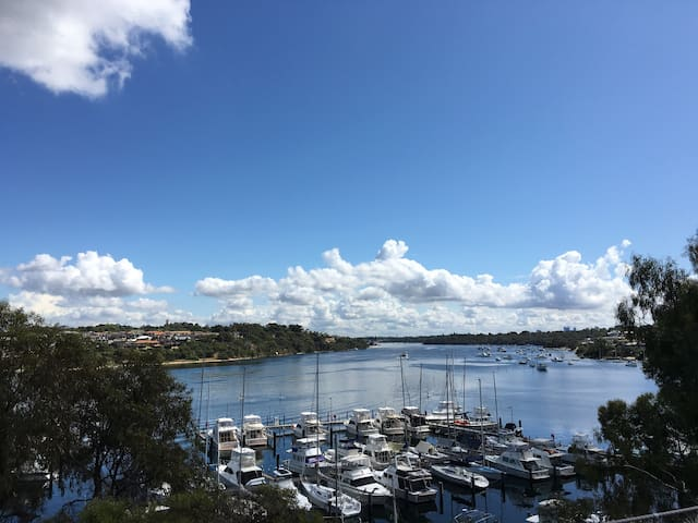 Cool Fremantle on the Swan River - East Fremantle - Maison de ville