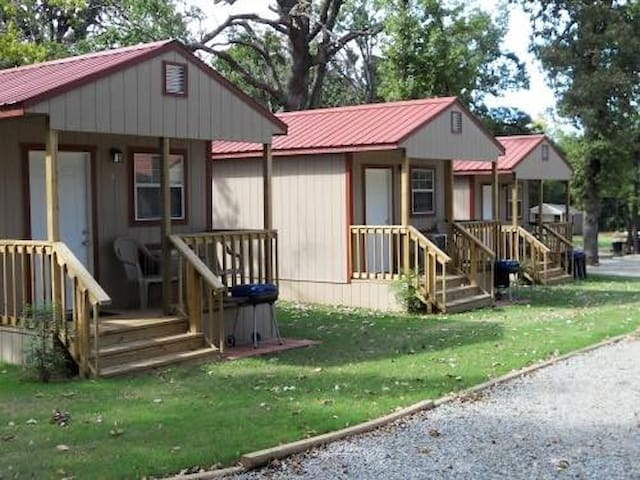 Angler's Hideaway Cabins on Lake Texoma Cabin 3 - Mead - Cabane