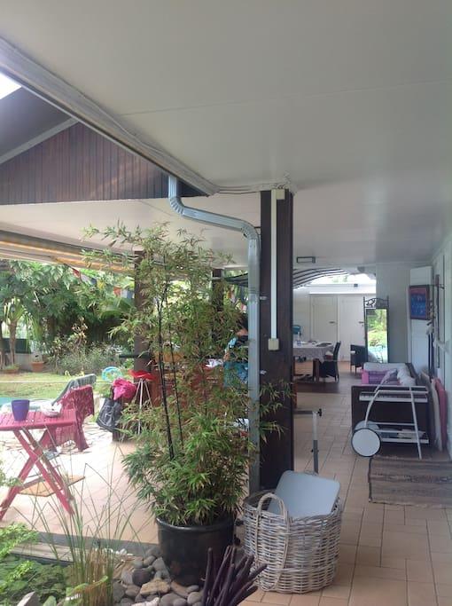 les verandas avant