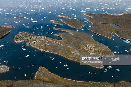 Sydgrønland Ø ferie i Saarloq med flot udsigt.