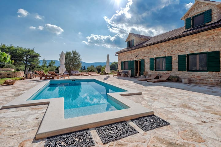Stone Villa Harpocrates, on the Island of Hvar
