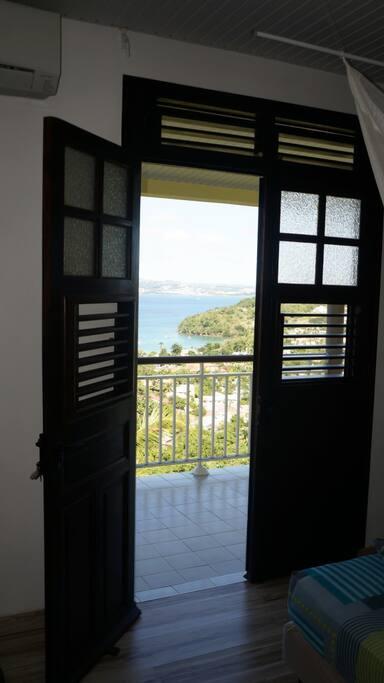 Villa Ansalane - Vue depuis le T2 Elise