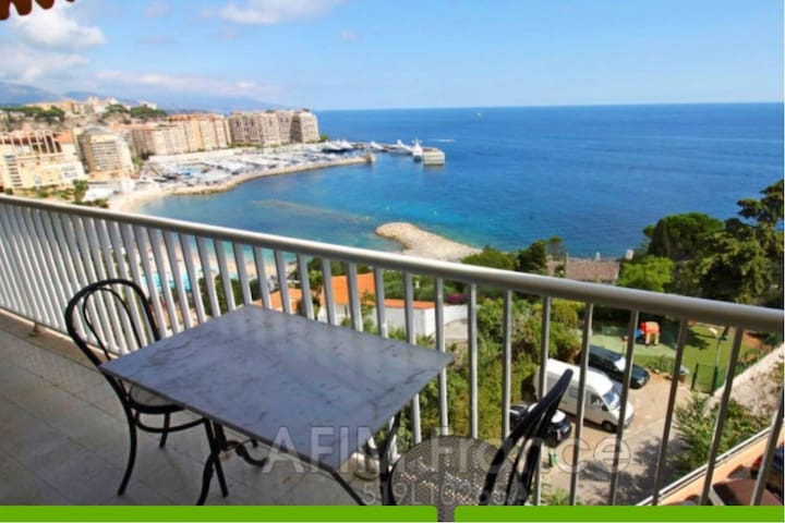 AMAZING 1bd BEACH FRONT• MONACO FONTVIEILLE BORDER
