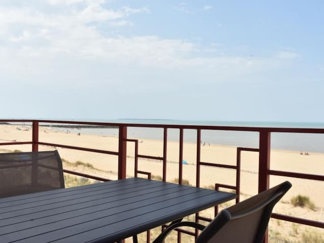 FRONT DE MER. Appartement T2 4 Personnes Balcon Wifi Parking - FR-1-535-5