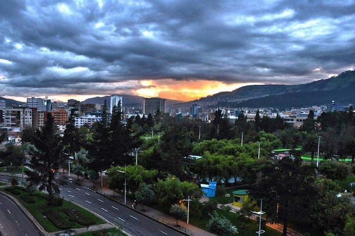 GREAT VIEW. APARTMENT IN THE HEART OF QUITO