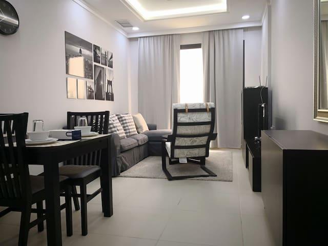 Kuwait City Furnished 2 Bedroom Near Hamra Tower