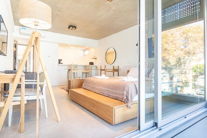 PALERMO HOLLYWOOD- brand new studio with pool