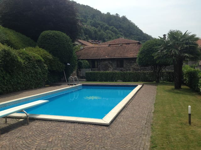 THE AMAZING COTTAGE (Pool&Beach) - Omegna