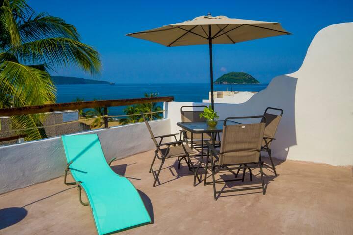 Ocean View Apartment in Casa las Velas La Peñita 4