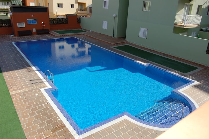 Candelaria apartment. Terrace and pool !