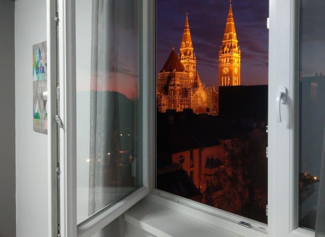 Dóm Suncity Apartman Szeged