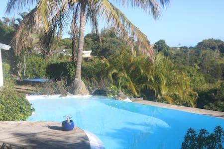 Maison avec piscine et vue sur l'océan. - La Montagne - Haus