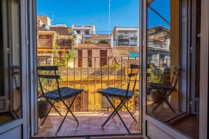 Lägenhet i Valencia stad nära stranden