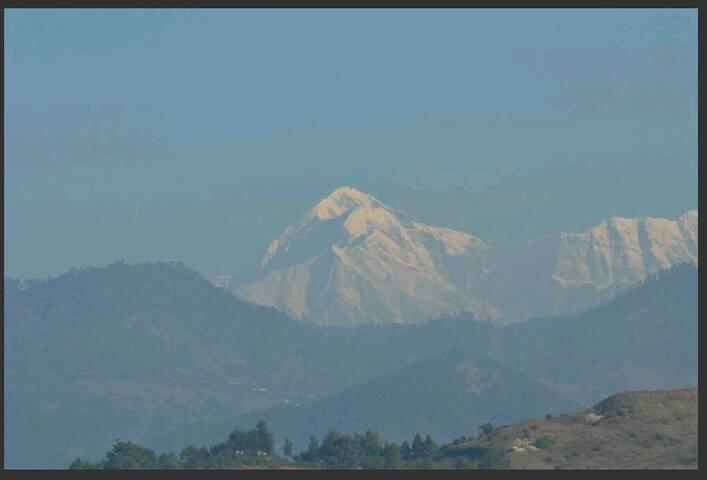 View of Himalaya Range