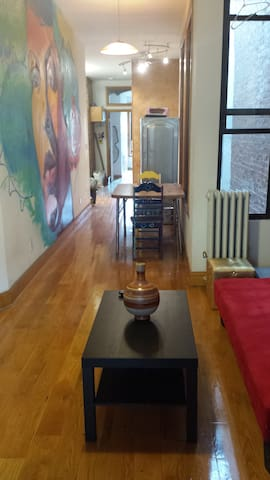 4 person private room in Spaha - New York - Wohnung
