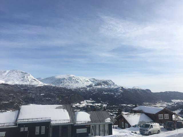 "Mountain-flat Skarsnuten - Alps of Scandinavia"" - Hemsedal - Casa de vacances"