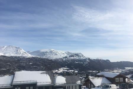 "Mountain-flat Skarsnuten - Alps of Scandinavia"" - Hemsedal - Ferienunterkunft"
