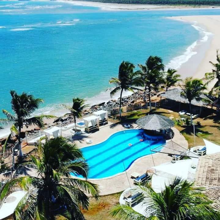Chalés Beira Mar Paradise em Barra do Cunhaú