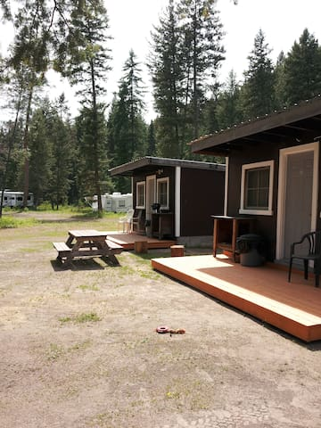 Double E Sportsman's Camp Cozy Cabin #2 - Westbridge - Stuga