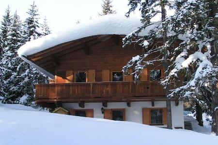 Gemütliche Ferienwohnung mit Hütten Charme - Hochkrimml