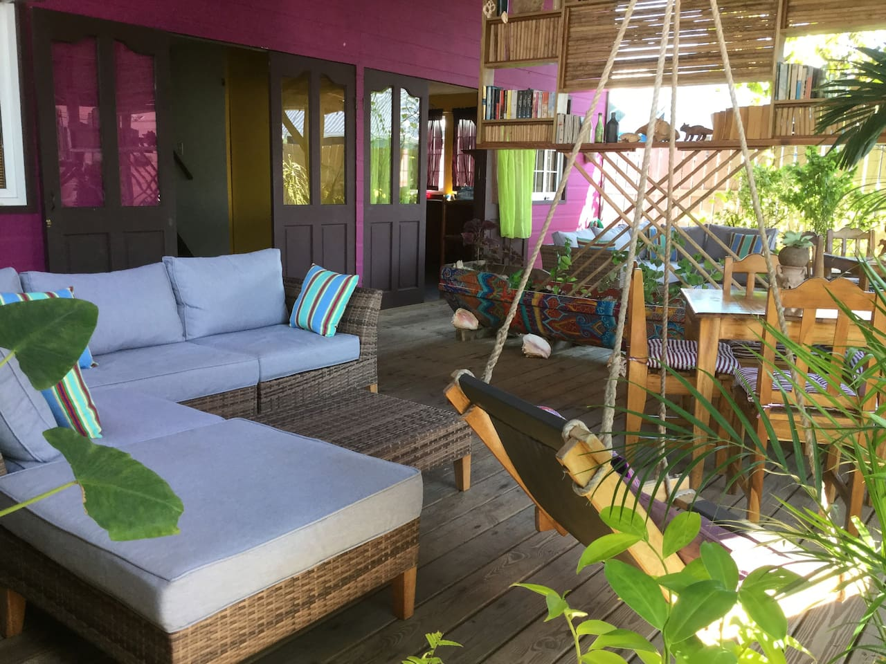 Your Front Deck Living Space