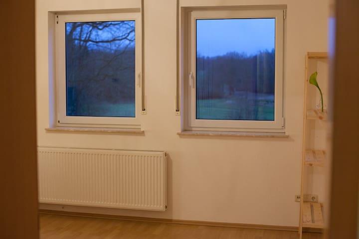 Gästezimmer 1 mit Fernblick