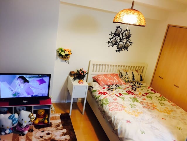 Big and comfortable house! Near by  tsutenkaku!