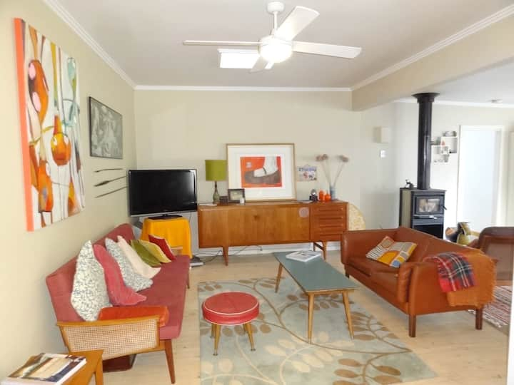 Retro retreat in the centre of town