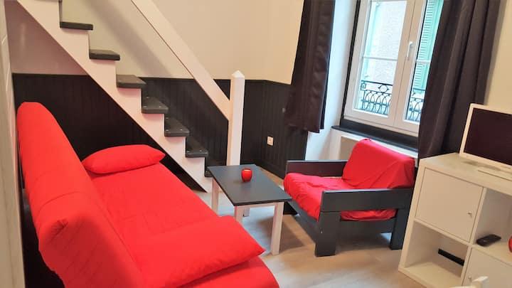Grand studio 32 m2 centre de Cauterets