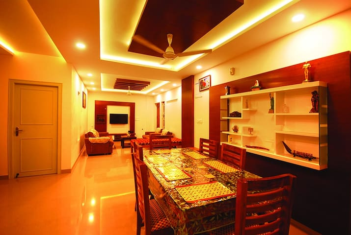 Fully air conditioned premium apartment citycentre - Thiruvananthapuram