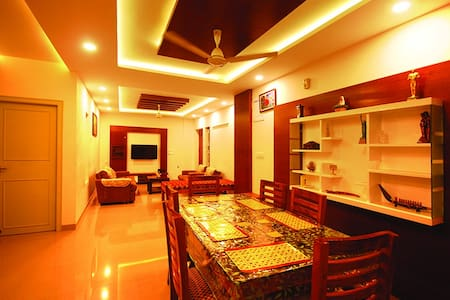 Fully air conditioned premium apartment citycentre - Thiruvananthapuram - Wohnung