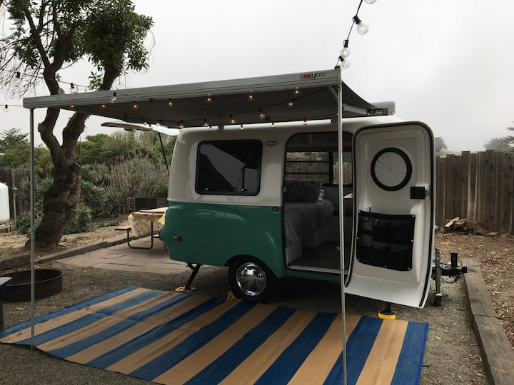 Happier Camper perfect location by the beach!