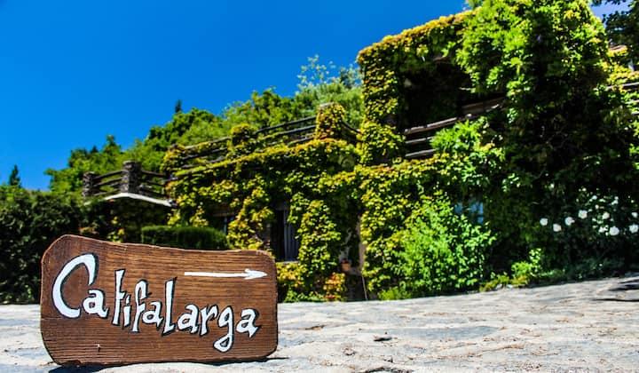 Casa Rural Catifalarga Capileira | Piscina  Jardín