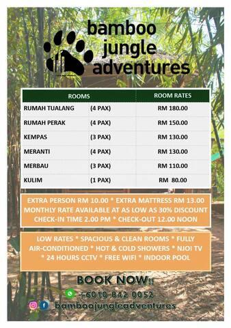Bamboo Jungle Adventures - Kempas