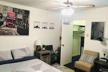 Cozy&comfy private condo room in safe south city!
