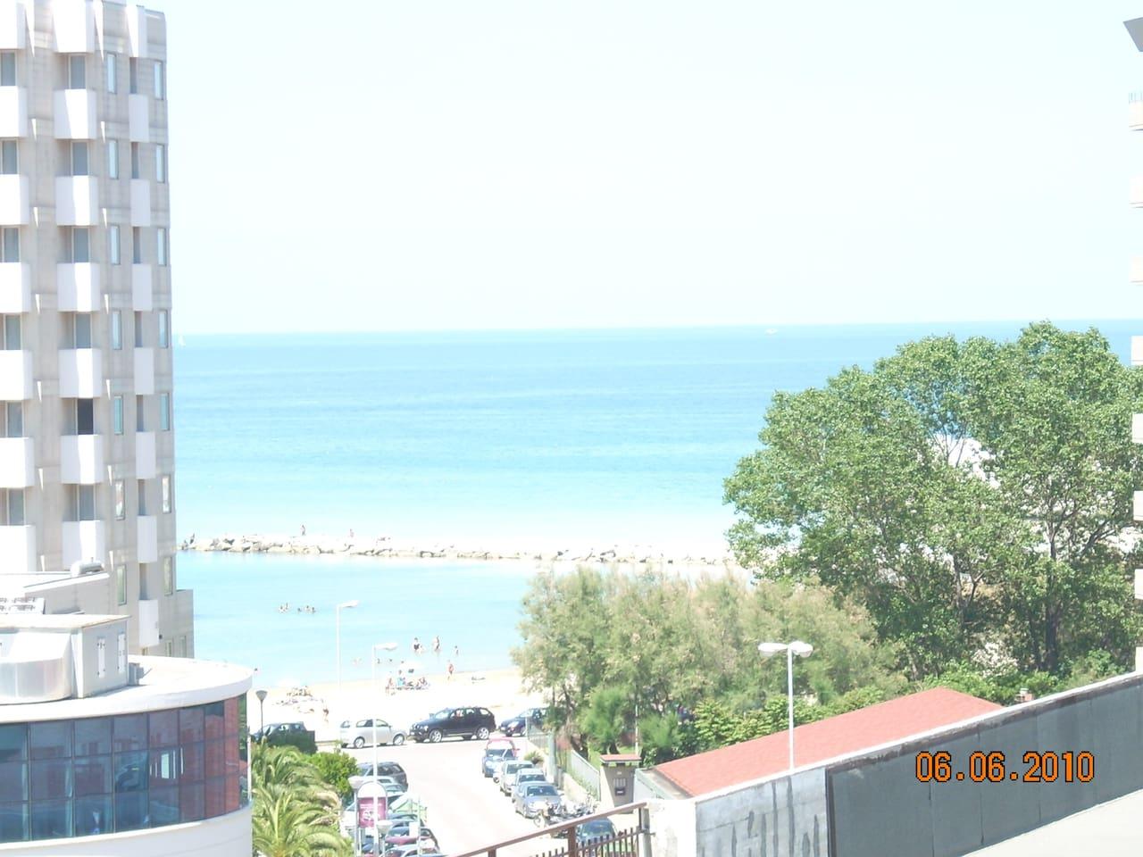 Gabbiano apt: Enjoy sea view and sandy beach