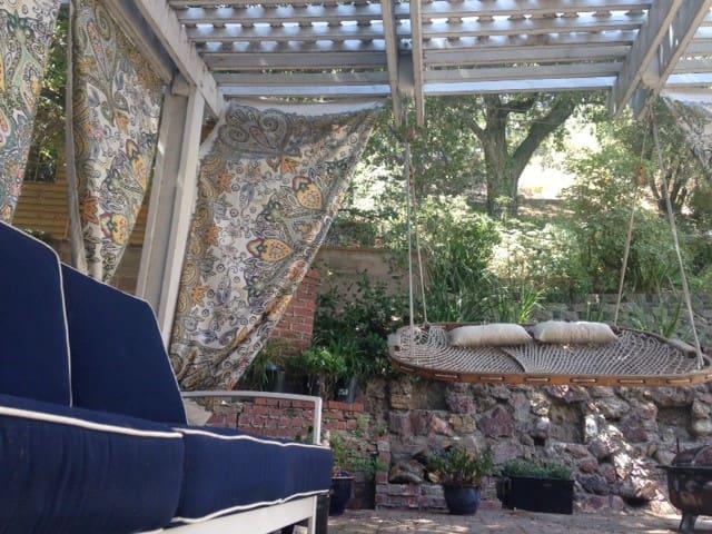 backyard hammock hideaway