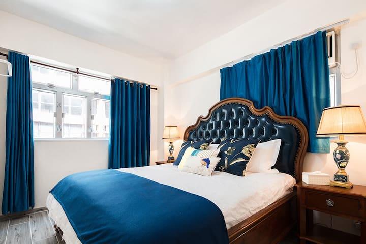 Master room bed size:180CM*220CM
