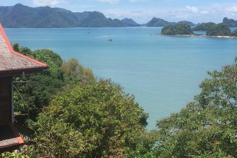 Villa Bougainvillea - Superbe vue sur la mer